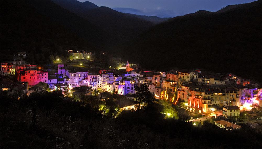Il paese illuminato - Festival delle fiabe - Rocchetta Nervina