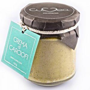 Artichoke cream jar