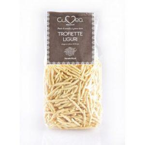 Trofiette italian pasta