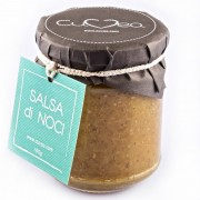 Walnut sauce jar: typical sauce from Liguria