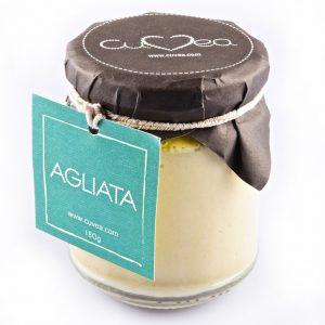Garlic sauce, garlic spread, jar