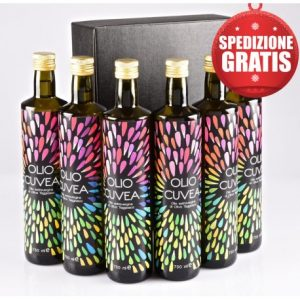Gift box Ligurian Olive oil: 6 bottles