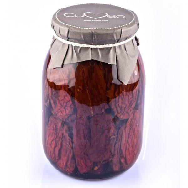 Sun dried tomato in oil jar maxi size