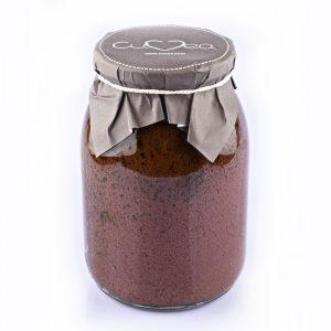 Taggiasca cream or spread in jar